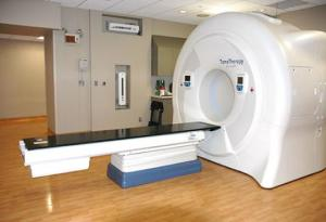 A Tomotherapy machine.
