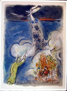 The Israelites Crossing the Red Sea, by Marc Chagall