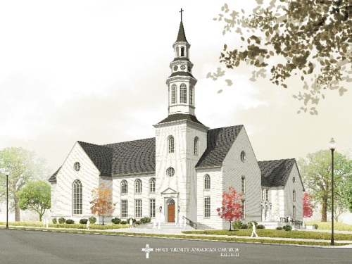 Holy Trinity Church, Raleigh (currently under construction)